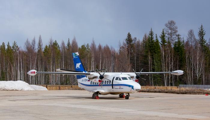 Л-410УВП-Э Полярных Авиалиний