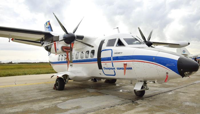 Л-410УВП-Э3 Полярных Авиалиний