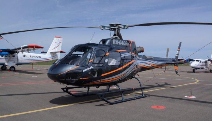 Вертолёт AS-350B3 Авиакомпании АэроГео