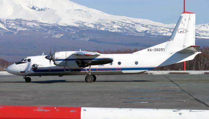 Ан-26-100 Камчатского авиапредприятия