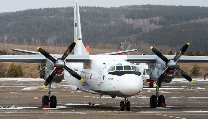 Ан-26-100 Авиакомпании КрасАвиа