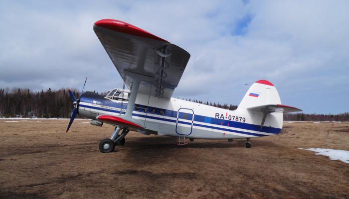 Ан-2ТП Второго Архангельского объединённого авиаотряда