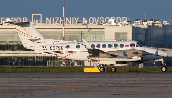 Beechcraft 300LW авиакомпании Лукойл-Авиа