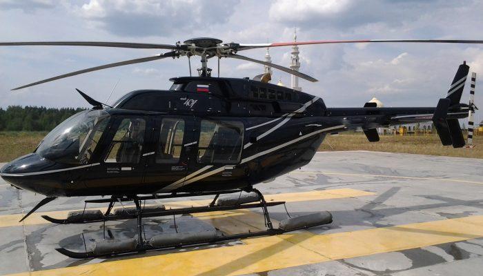 Bell-407 авиакомпании Авиасервис