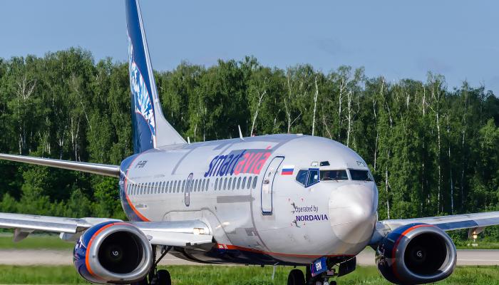 Боинг 737-5Y0 Авиакомпании СмартАвиа
