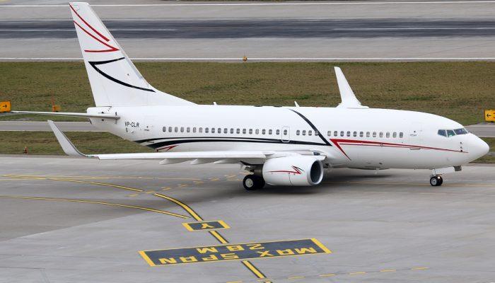 Боинг 737-700 Авиакомпании Лукойл-Авиа