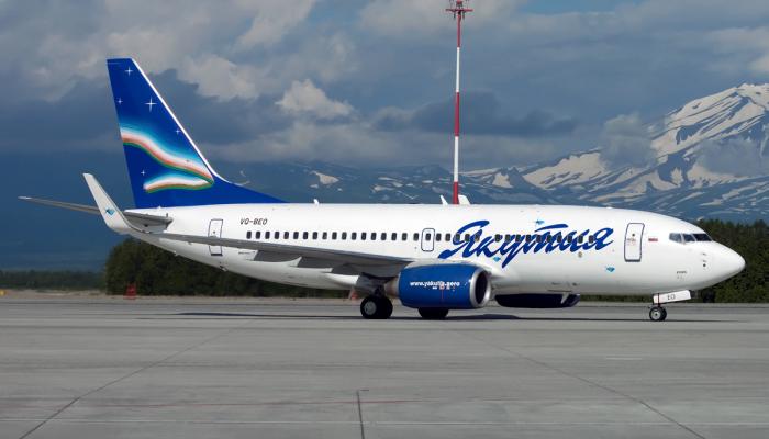 Boeing 737-76Q Авиакомпании Якутия