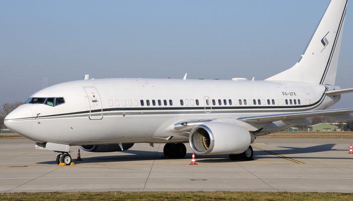 Boeing 737-7FY(BBJ) авиакомпании Jet Air Group
