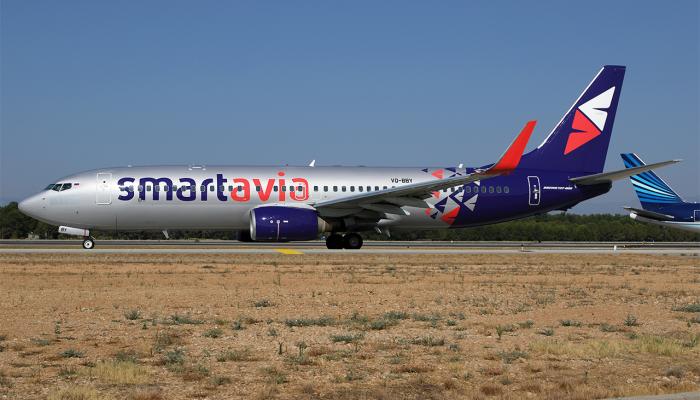 Boeing 737-86N SmartAvia Airlines