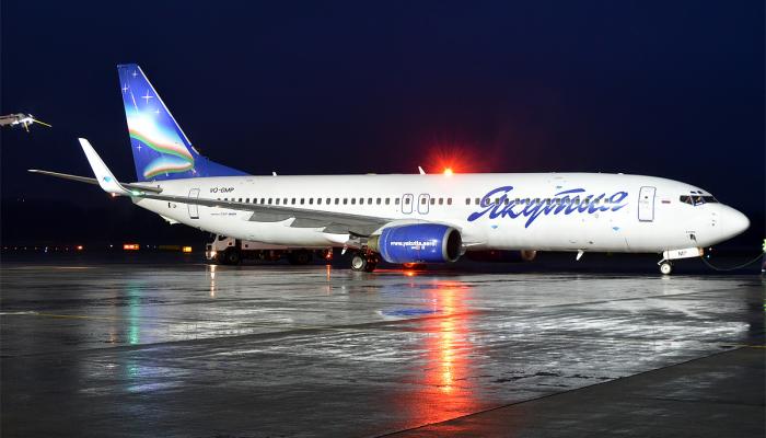Boeing 737-86N Yakutia Airlines