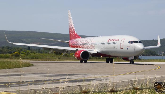 Boeing 737-8AS Rossiya Airlines