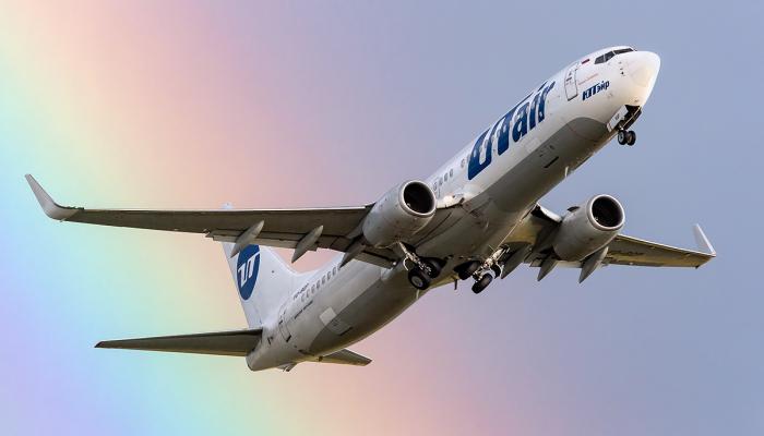 Boeing 737-8GU Авиакомпании Ютэйр