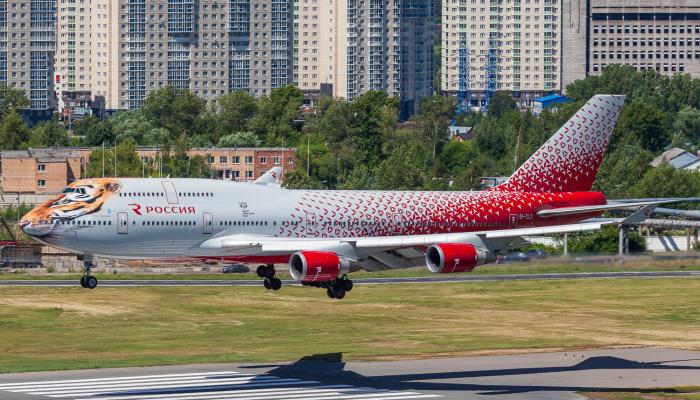 Boeing 747-446 Rossiya Airlines