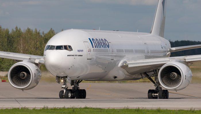 Боинг 777-200ER Авиакомпании ИрАэро