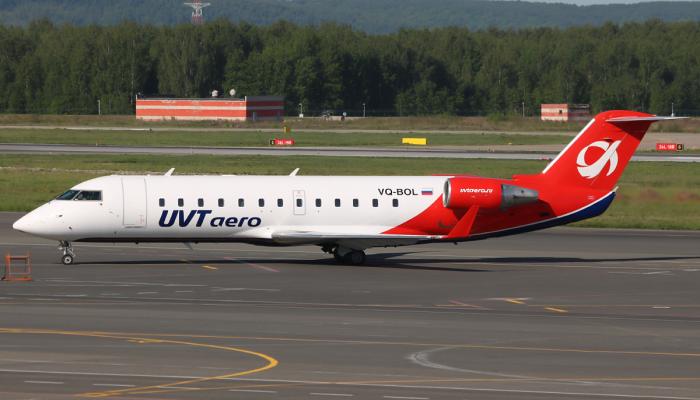 Bombardier CRJ-200ER UVT Aero Airlines