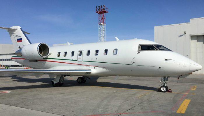 Bombardier Challenger CL-605 авиакомпании Аэросервис