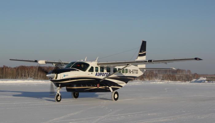 Cessna-208B Grand Caravan Авиакомпании АэроГео