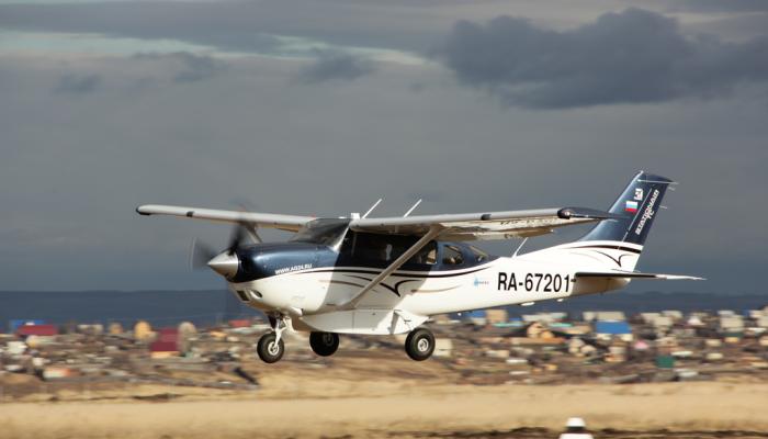 Cessna T206H Turbo Stationair Авиакомпании АэроГео