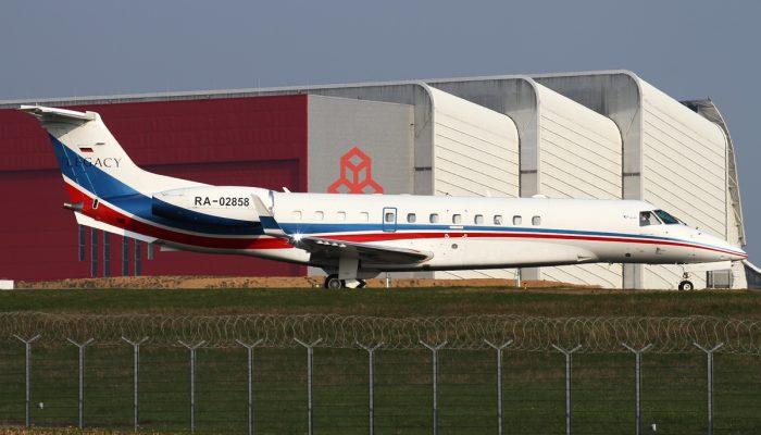 Embraer ERJ-135BJ Legacy 600 авиакомпании Jet Air Group