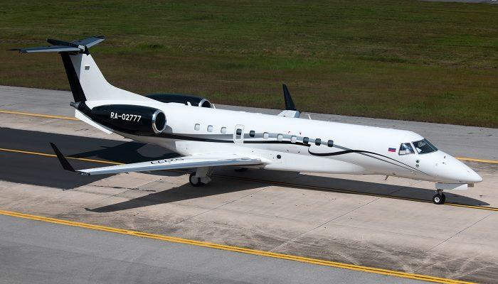 Embraer ERJ-135BJ Legacy авиакомпании Jet Air Group