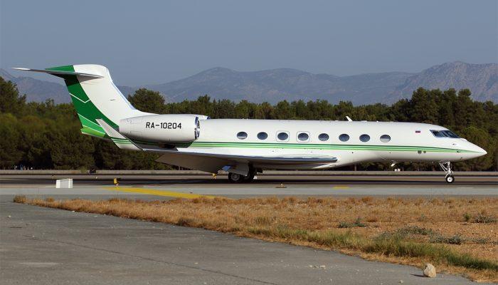 Gulfstream G650 авиакомпании Jet Air Group