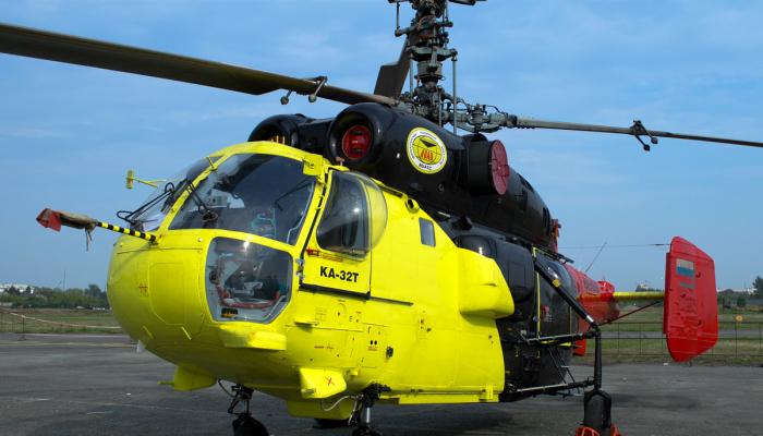 Ка-32Т Авиакомпании Ютэйр