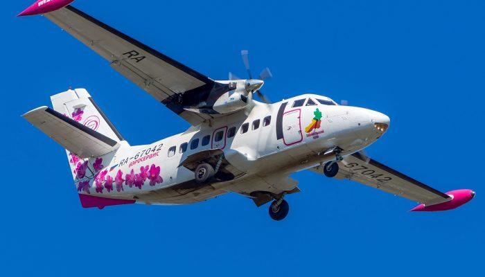 L-410 Авиакомпании Аэросервис