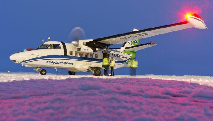 L 410UVP-E20 Авиакомпании Комиавиатранс