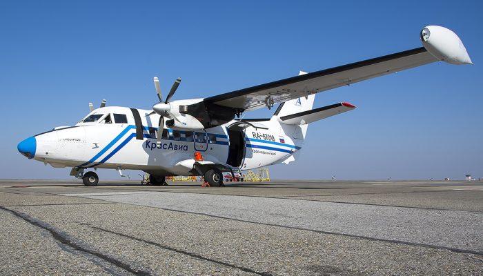 L-410UVP-E20 KrasAvia Airlines