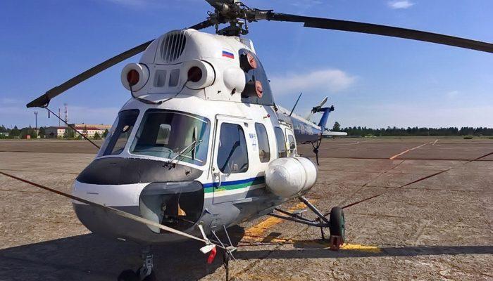 Mi-2 Komiaviatrans Airlines