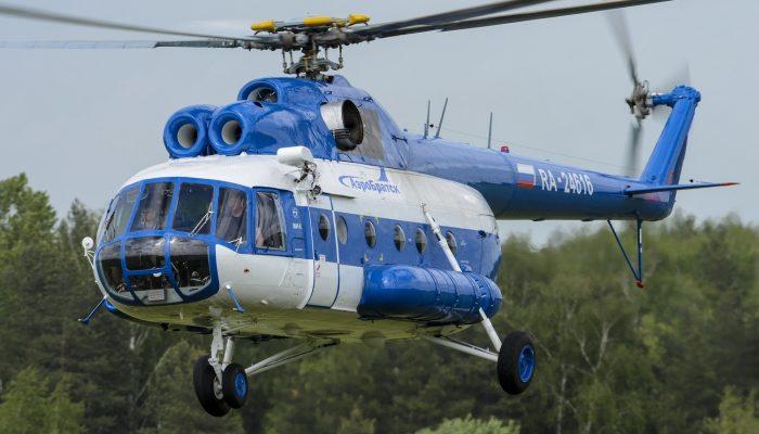 Mi-8 AeroBratsk Airlines