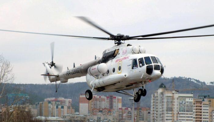 Ми-8АМТ Авиакомпании Аэросервис