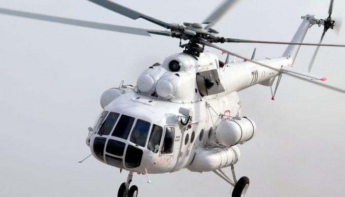 Ми-8 АМТ Авиакомпании Ангара