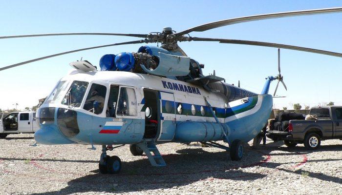 Mi-8AMT Komiaviatrans Airlines