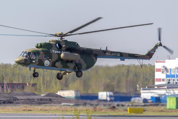 Ми-8АМТ Авиакомпании Тува Авиа