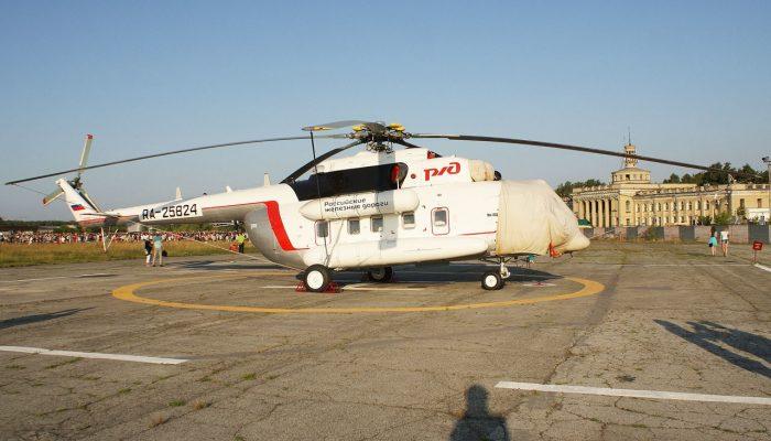 Ми-8АМТ Авиакомпании Вельталь-авиа