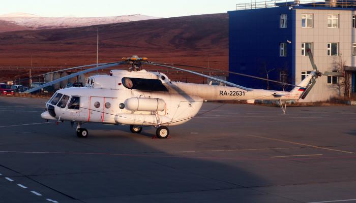 Ми-8МТ Авиакомпании ЧукотАвиа