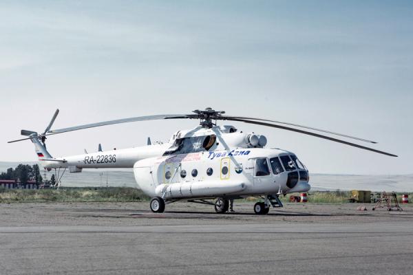 Ми-8МТВ-1 Авиакомпании Тува Авиа