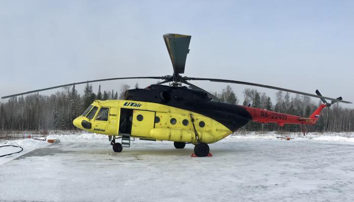 Ми-8МТВ-1 Авиакомпании Ютэйр