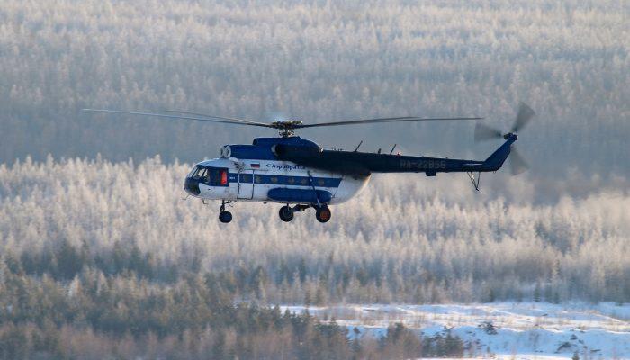 Ми-8Т Авиакомпании АэроБратск