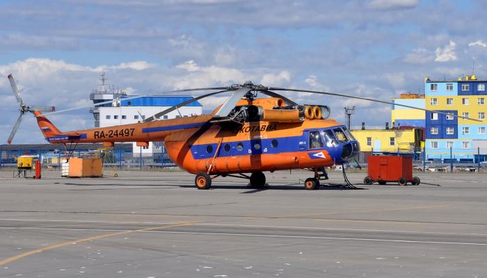 Ми-8Т Авиакомпании ЧукотАвиа