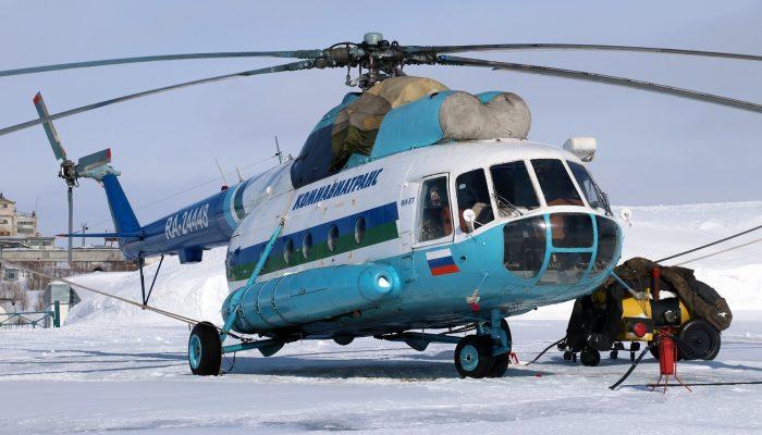 Mi-8T Komiaviatrans Airlines