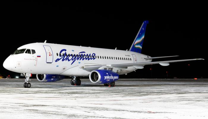 Sukhoi SuperJet 100-95B Yakutia Airlines