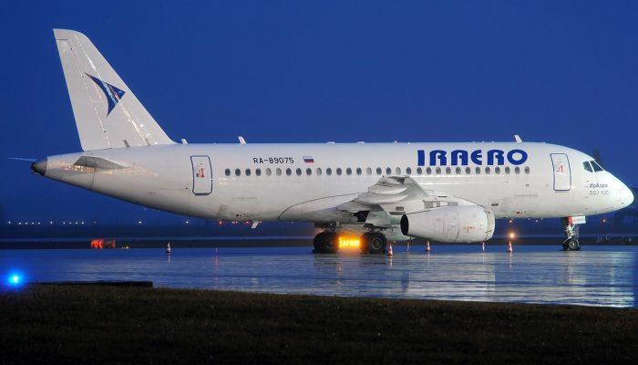 Sukhoi SuperJet 100-95LR Iraero Airlines