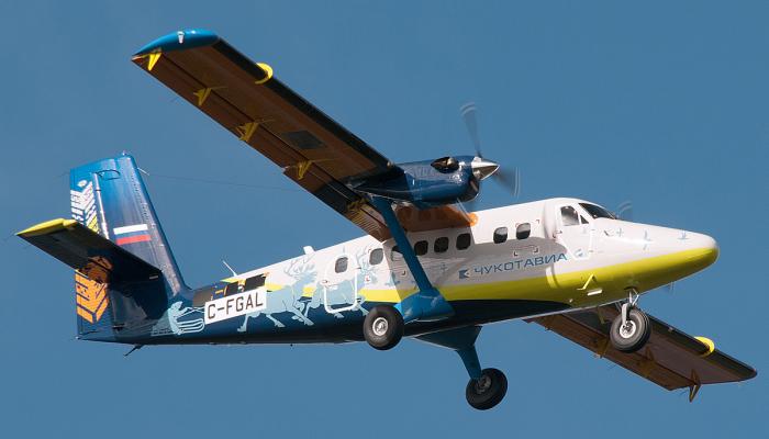 Viking DHC-6-400 Twin Otter ChukotAvia Airlines
