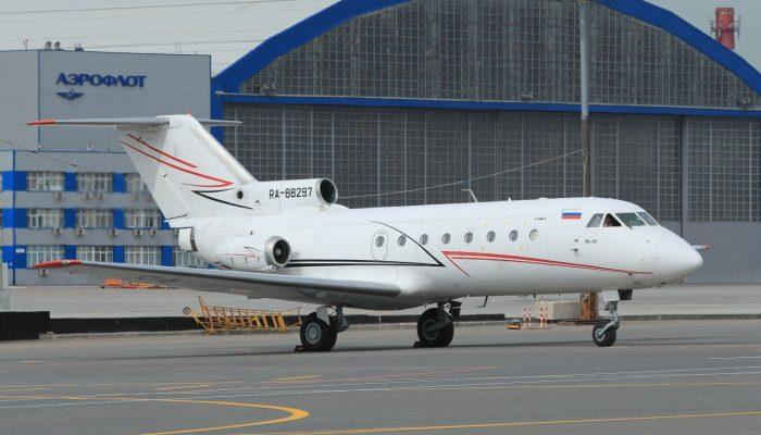 Як-40 Авиакомпании Лукойл-Авиа