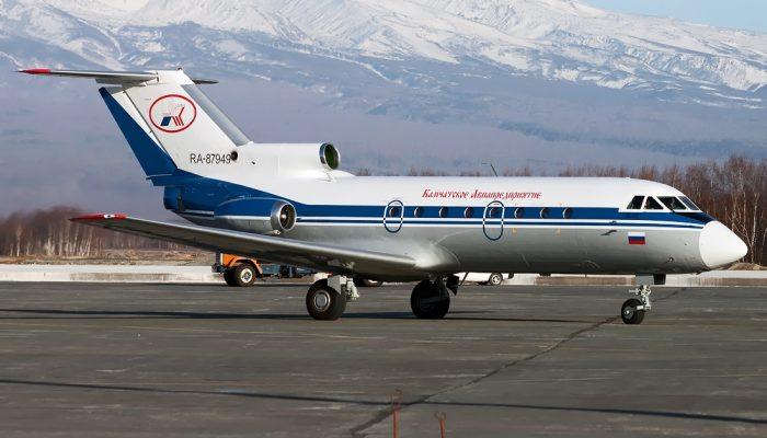 Yak-40K Kamchatka Aviation Enterprise