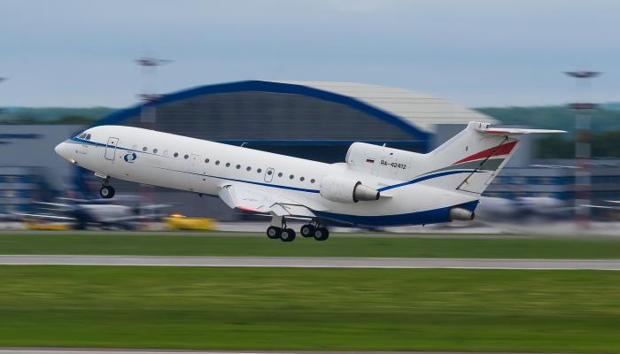 Yak-42D RusJet Airlines